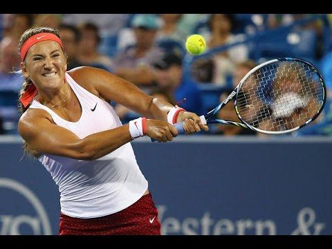 2015 Western & Southern Open Second Round | Victoria Azarenka vs Caroline Wozniacki | WTA Highlights