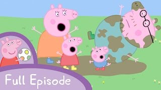 Peppa Pig Episodes - Muddy Puddles (full episode) - Cartoons for Children