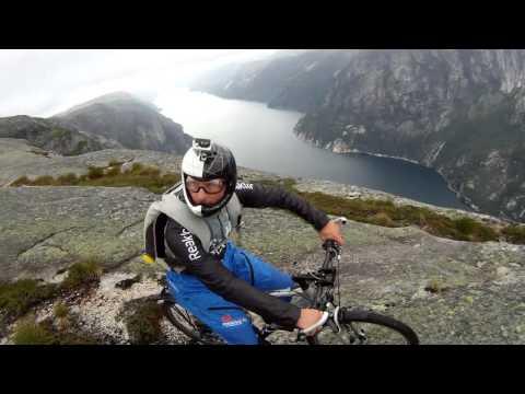 Бейсджампинг в Норвегии