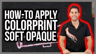 How to Mask and Apply Siser ColorPrint Soft Opaque