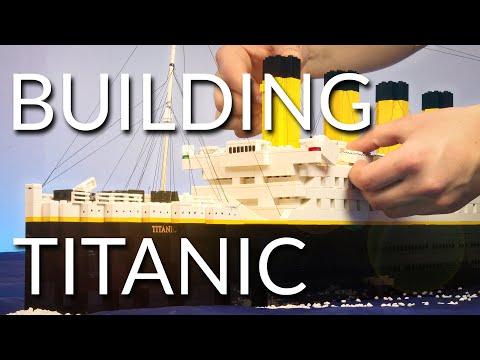 Building Lego Titanic