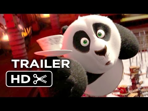 Kung Fu Panda 3 Official Teaser Trailer #1 (2016) - Jack Black, Angelina Jolie Animated Movie HD