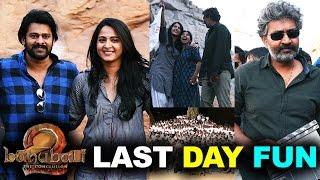 Bahubali 2 Movie Last Day Shooting Wrap Up | Prabhas, Anushka, Rana ,SS Rajamouli
