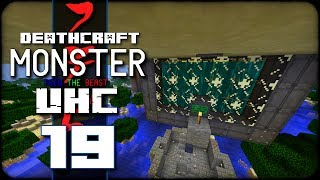 DeathCraft Monster UHC SMP - S2 Ep 19 - Big Reactors!