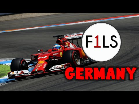 F1 2014 Live Season - German Grand Prix (Full Race)