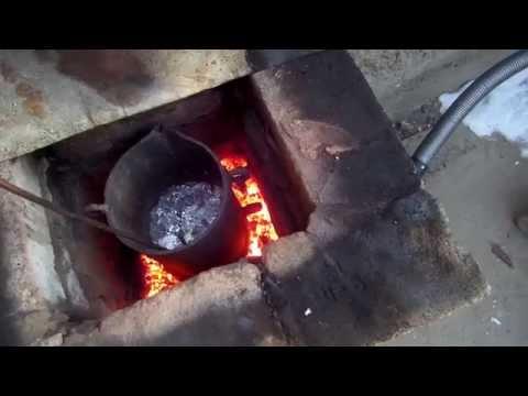 Печи для плавки цветного металла своими руками 91