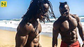 アフリカ人の身体能力と筋肉のエグさが分かる4分間
