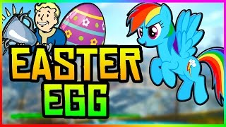 Fallout 4 Easter Eggs - MY LITTLE PONY FOUND! (Fallout 4 Secrets)