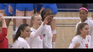 Recap: Arizona women's volleyball shuts out UCLA at home