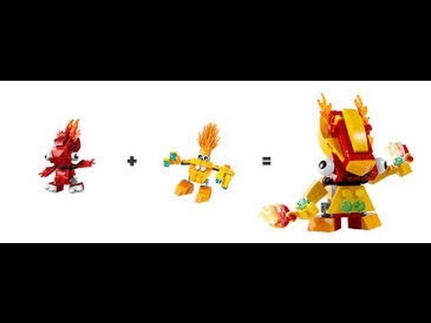Mixels Flain And Teslo Lego Mixels Flain And Volectro