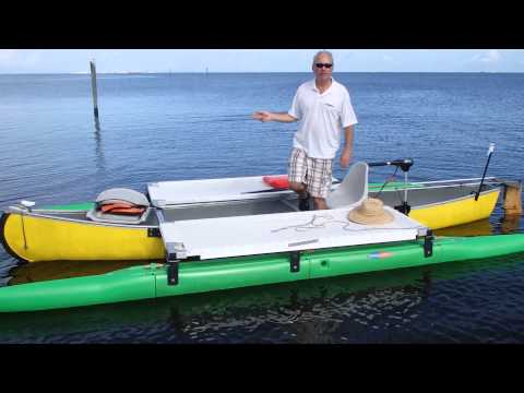 Outrigger canoe kit from Expandacraft