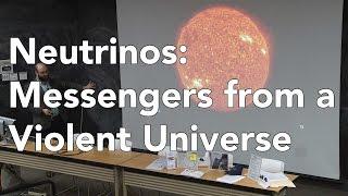 Neutrinos: Messengers from a Violent Universe