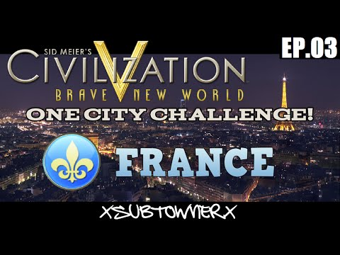 Civ 5 - France Gameplay [P3] - Exploration Mode