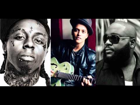 Lil Wayne Ft Bruno Mars And Rick Ross - Mirror (Remix)