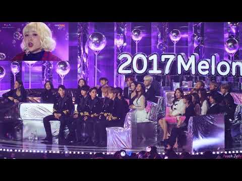 171202 방탄소년단(BTS) - Reaction (56 min.) fancam / 2017 MMA