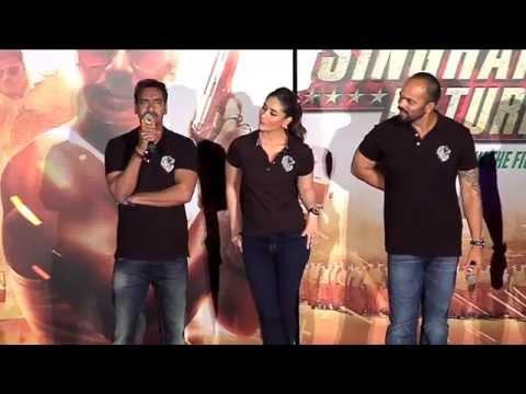 Ajay Devgn on SRK promoting Singham Returns