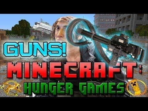 Minecraft: Hunger Games w/Mitch! w/Guns 2!
