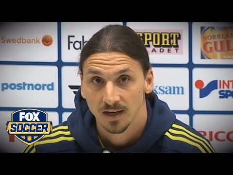 Zlatan Ibrahimovic announces he will join Manchester United