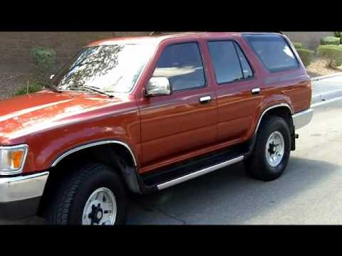 1994 toyota 4runner 4wd auto 6cyl fully equipped youtube. Black Bedroom Furniture Sets. Home Design Ideas