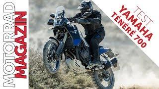 Yamaha Ténéré 700 Test - Spielt alle Stückel mit NULL Elektronik