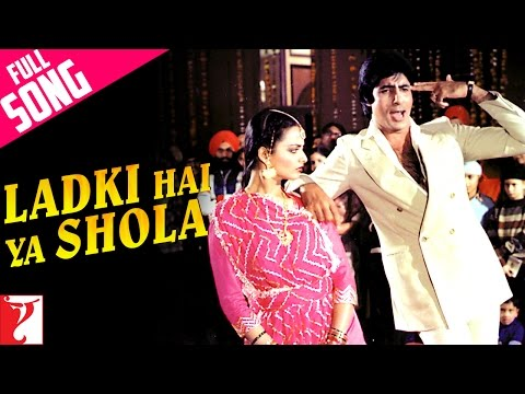 Ladki Hai Ya Shola - Song - Silsila video