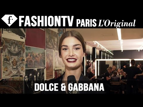 Dolce & Gabbana Backstage Part 2 | Milan Fashion Week Spring/Summer 2015 | FashionTV