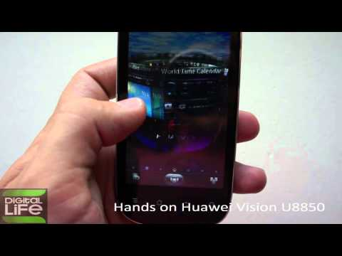 Hands on Huawei Vision U8850 (GREEK)