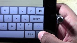 iPad Mini_ How to Split the Keyboard