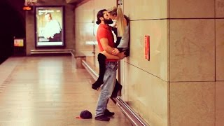 KISSING GIRLS in the SUBWAY! Social Experiment
