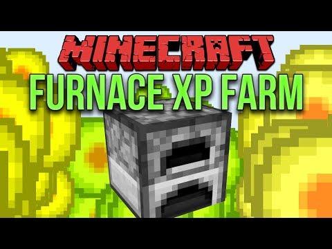 Minecraft 1.13 Furnace XP Farm