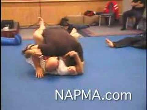 Dan Severn Teaches Ground & Pound for NAPMA Video