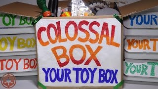 "Opening: Your Toy Box SUBSCRIPTION BOX! #10 ""COLOSSAL BOX"" Bonus JUMBO BIG"