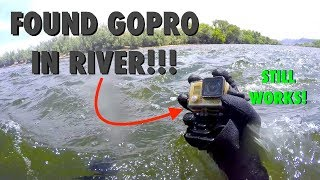 River Treasure: Working GoPro, Fitbit, Ray-Bans, SPY Sunglasses, Wallet (AND GIVEAWAY WINNERS!)