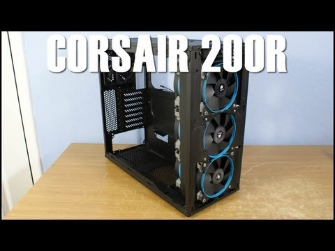 Corsair 200R Review & 360mm Radiator Modding Guide Watercooling