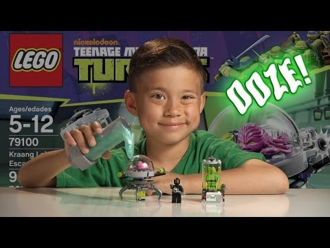 KRAANG LAB ESCAPE & MUTAGEN OOZE!!! - LEGO Teenage Mutant Ninja Turtles Set 79100