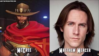 OVERWATCH The Entire Voice Cast