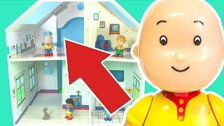 Caillou Toys for Kids - Unboxing Caillou Playset LIVE | TOYS FOR KID