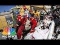 Rescuers Search For Survivors In Town Hit Hard By Iranian Earthquake | NBC News
