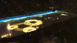April 15, 2016 Dallas Stars Playoff game intro