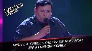 The Voice Chile | Rolando Valdes - Yo no sé mañana