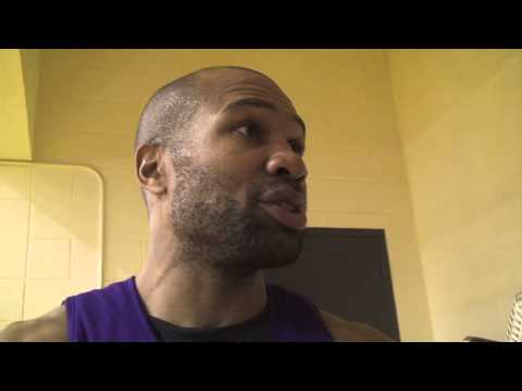 Lakers guard Derek Fisher on Chris Paul possibly coming to the Lakers