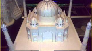 Как сделать макет мечети из бумаги своими руками 1