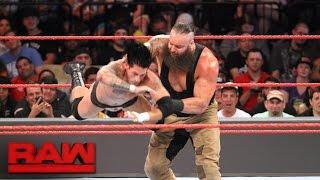 Braun Strowman vs. Johnny Knockout: Raw, Aug. 22, 2016