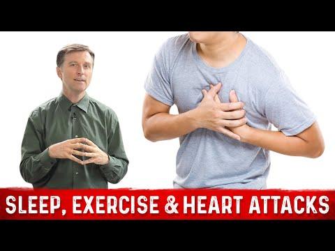Sleep, Exercise & Heart Attacks!