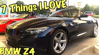7 Things I LOVE about my BMW Z4 E89