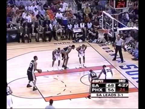 Tim Duncan: Heading to the Finals (2005 WCF Game 5, 31 points)