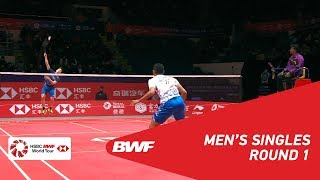 R1 MS Tommy SUGIARTO INA vs Kantaphon WANGCHAROEN THA BWF 2018