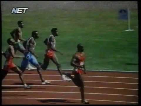 Seoul 1988 Olympic games - Men's 100 metres -