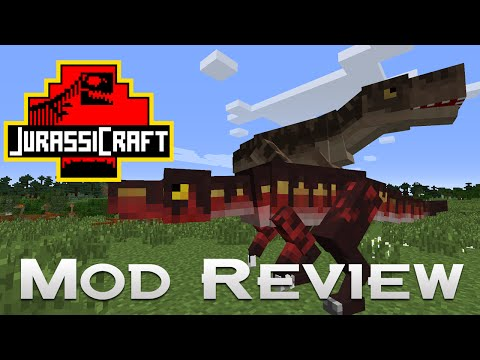 JurassiCraft - Mod Review - First look