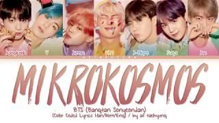 BTS (방탄소년단) - Mikrokosmos (소우주) (Color Coded Lyrics Han/Rom/Eng)
